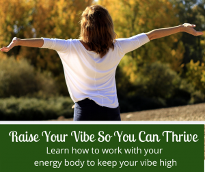 Raise your vibe so you can thrive
